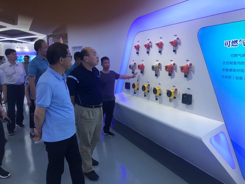 中国郑州智能传感谷专家团莅临beplay手机下载电气开展调研活动