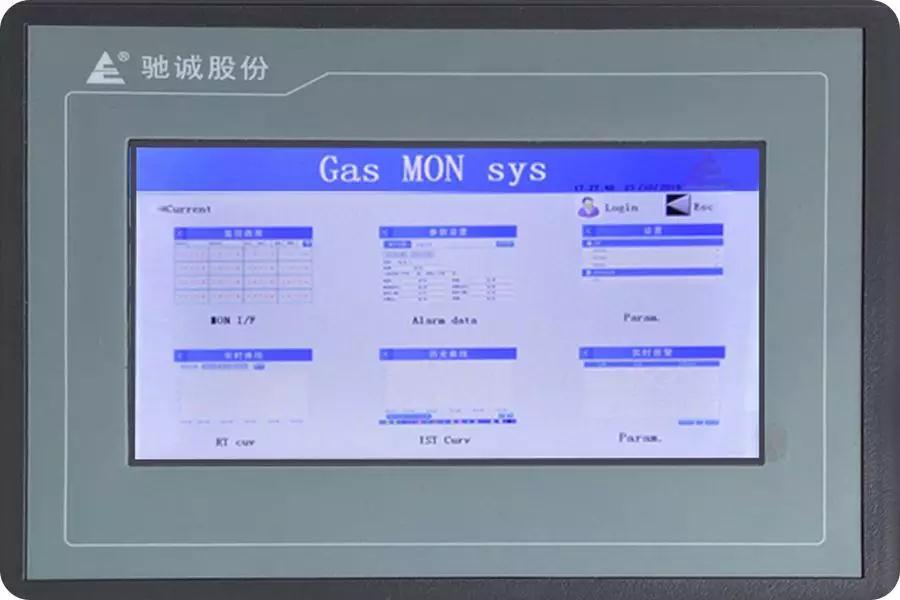 驰诚电气升级版气体报警控制器QB3100震撼发布