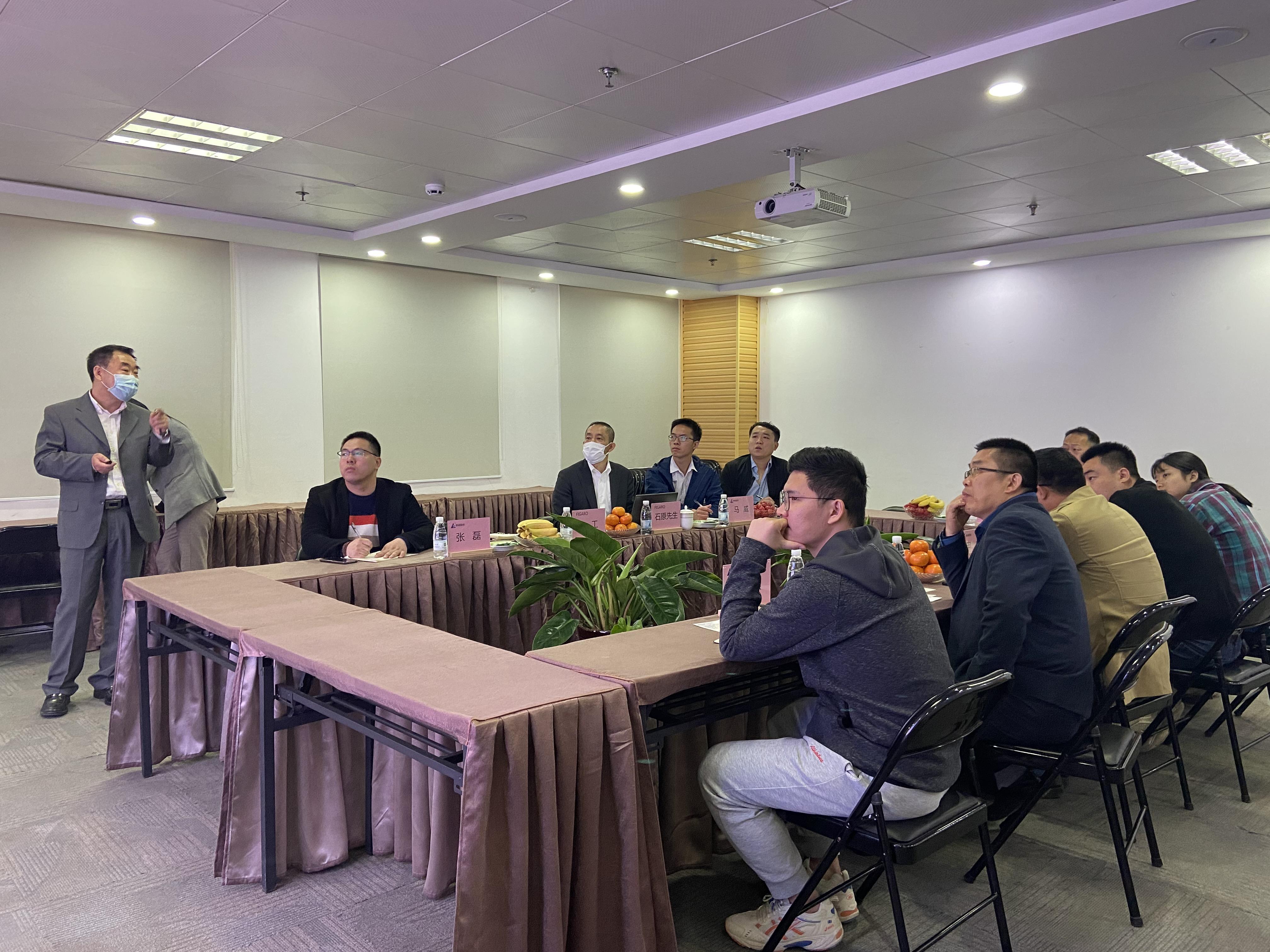 欢迎FIGARO技术人员莅临beplay手机下载电气开展技术交流