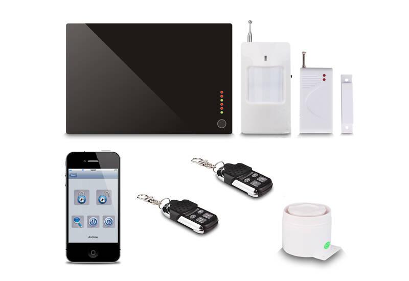 GSM无线智能防盗报警器